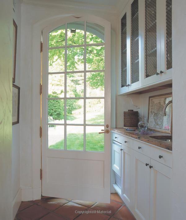 Door cabinets for the kitchen pinterest back doors for Kitchen back door