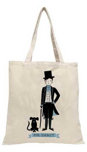 Mr Darcy tote
