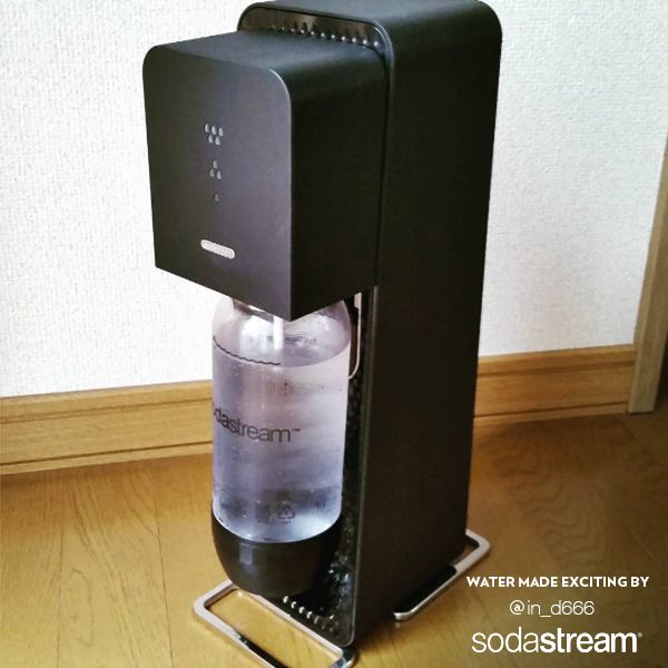 Transform flat water into sparkling easily with your SodaStream sparkling water maker! Easily make your own soda water with SodaStream and enjoy a refreshing and hydrating taste that'll keep you hydrated again and again.