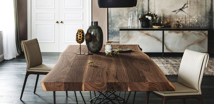 Cattelan Italia Gordon Deep Wood table by Giorgio Cattelan