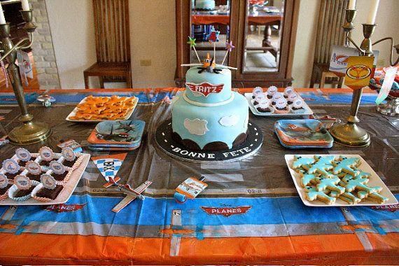 Disney Planes birthday decorations disney by TresChicPartyDesigns