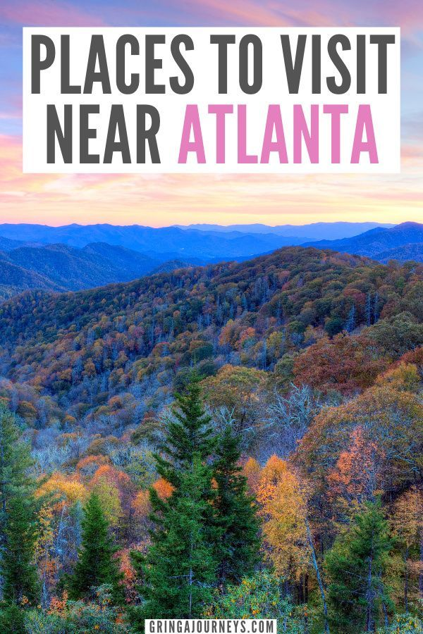 The 24 Best Road Trips From Atlanta Georgia Day Trips More Trip Usa Travel Destinations Road Trip Fun