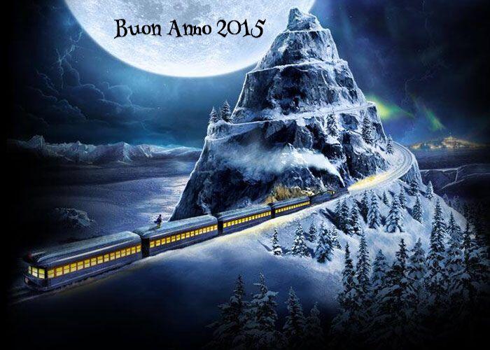 Buon 2015 a bordo del Polar Express lungo i binari della Transiberiana d'Italia. www.lerotaie.com