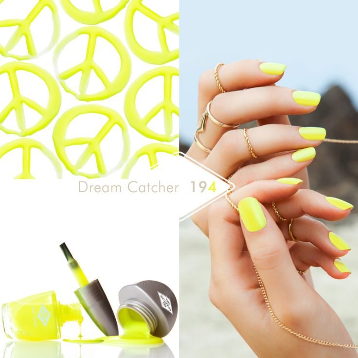 194 Dream Catcher Nothing screams summer quite like sherbet lemon nails, free spirit, youth and fun all in one!