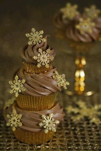 Pino cupcake