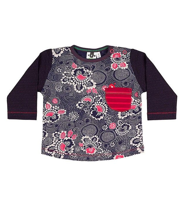 Born to Be L/S Pocket T Shirt, Limited edition clothing for children, www.oishi-m.com