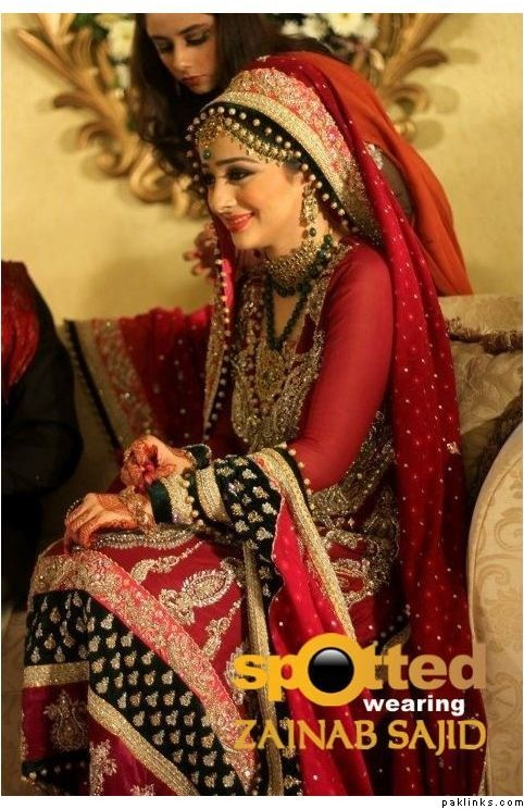 ... Bridal Dresses! on Pinterest | Couture week, Pakistani bridal couture