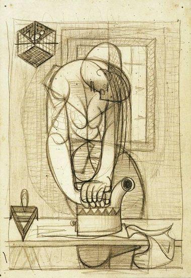 Almada Negreiros - A Engomadeira (1938)