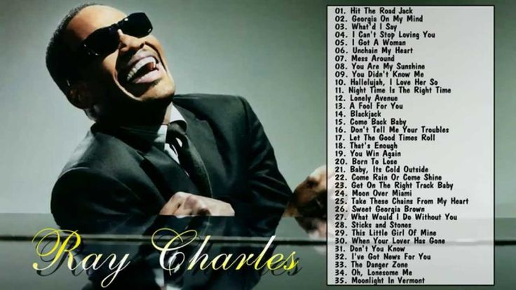Ray Charles Greatest Hits Full Album - Ray Charles's 35 Biggest Songs