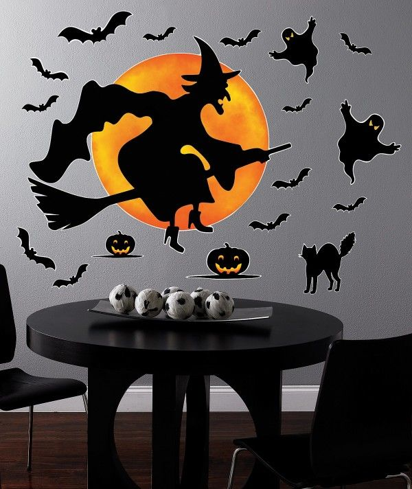 DIY Ideas how to decorate your house for Halloween #Pintowingifts