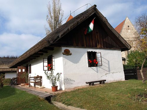 Traditional Houses (Old Village), Ócsa   von Norci