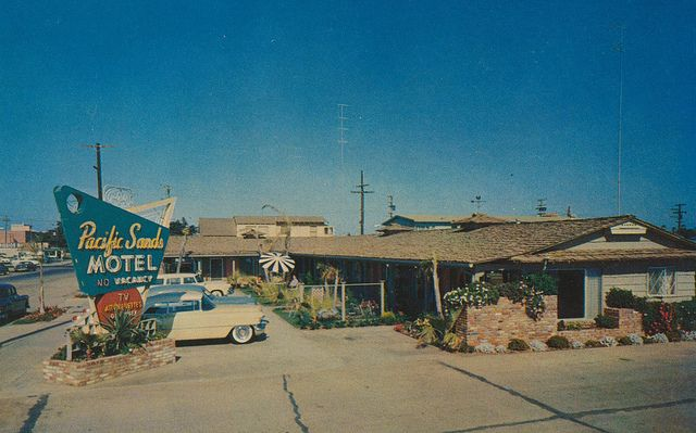 Pacific Sands Motel - San Diego, California by The Pie Shops Collection, via Flickr
