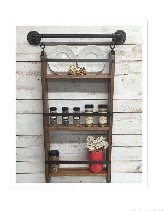 Wall Mounted Kitchen Shelves Best 25 Kitchen Shelving Units Ideas On Pinterest  Metro