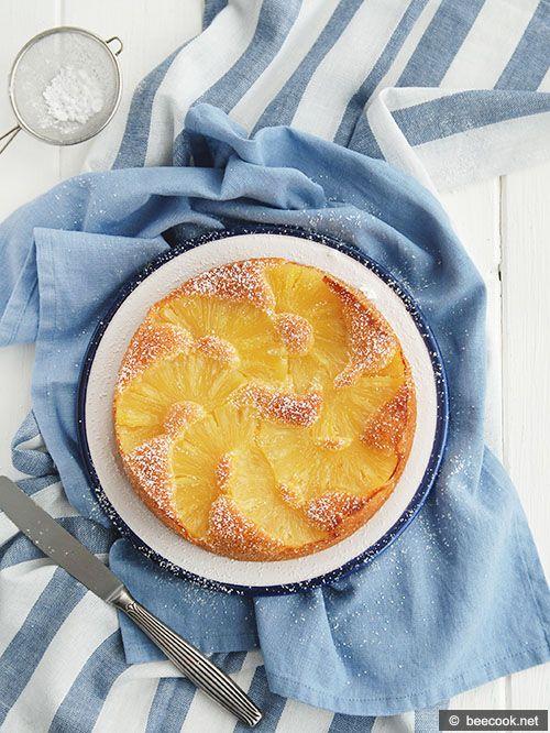 Пирог+с+ананасами