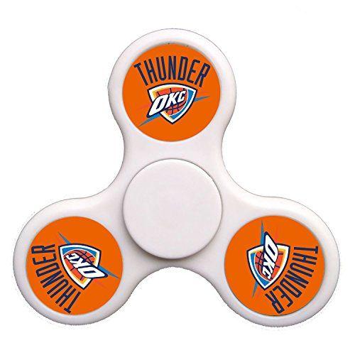 Cheap price Lei-Fun Oklahoma City Basketball Tri-Spinner Fidget Hand Spinner Finger Toy on sale