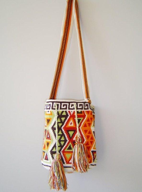 www.malambo.com.au fair trade - sustainable fashion - Wayuu mochila tribal bag