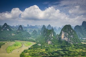 Karst landscape in yangshuo  10 top attractions in China