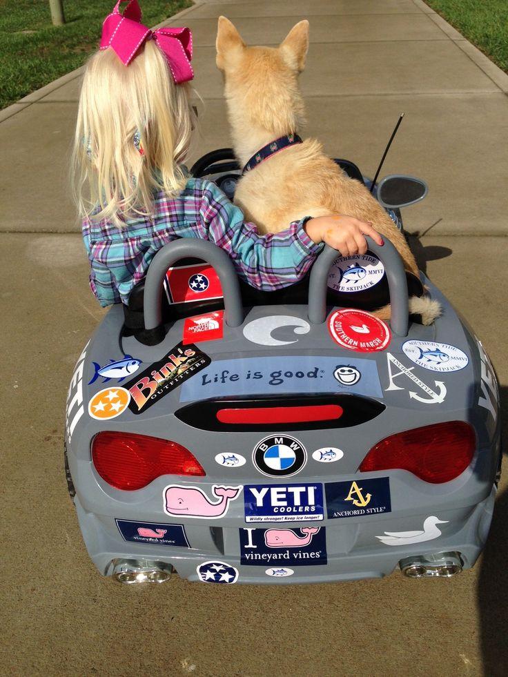 Car Stickers Preppy