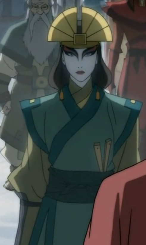"""Can we take a small moment to appreciate just how beautiful Kyoshi is?"""
