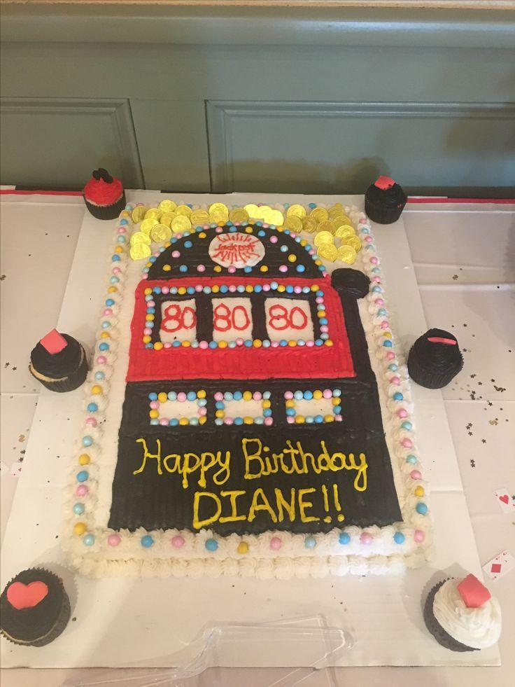 Slot machine/Casino themed cake