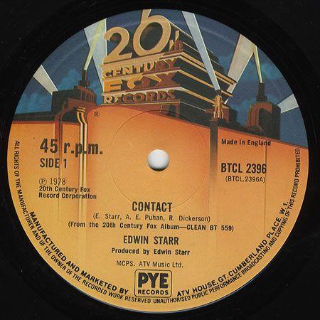 Funk-Disco-Soul-Groove-Rap: Edwin Starr - Contact (Club Mix).