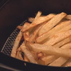 Fried chips air frier and chips on pinterest for Air fryer fish and chips