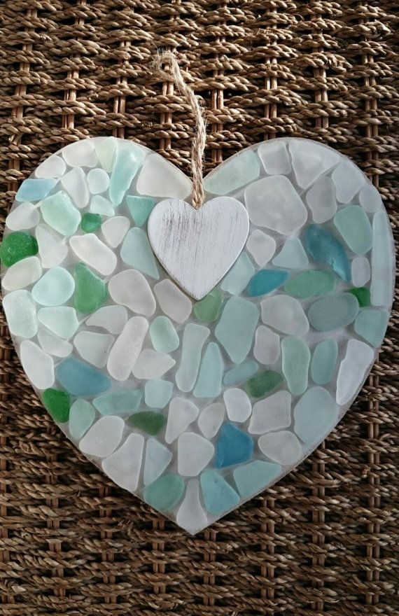 Check out this item in my Etsy shop https://www.etsy.com/uk/listing/261053285/sea-glass-mosaic-love-heart-handmade