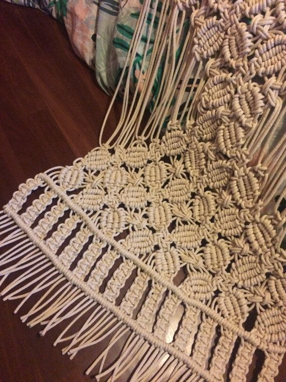 Handmade large macrame wall hanging by LittleCorrie on Etsy Visit my Etsy shop to purchase my creations https://www.etsy.com/au/shop/LittleCorrie?ref=shop_sugg