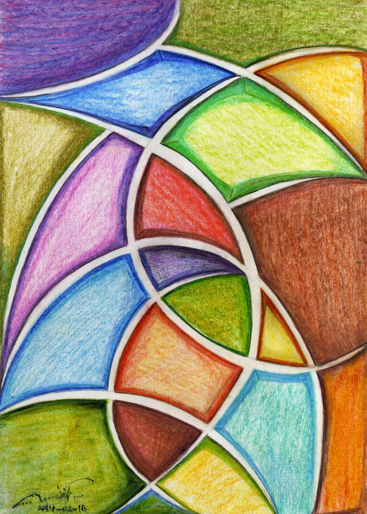 Abstract. Color pencils. qusay.alkhateeb.se