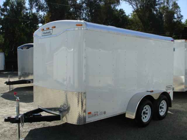 "2016 New Haulmark TS6X12DT2 Toy Hauler in California CA.Recreational Vehicle, rv, 2014 HAULMARK TS6X12DT2, TRANSPORT DLX WITH A DUAL CARGO REAR DOORS. THIS TRAILER ALSO COMES WITH 2 3500LBS ELECTRIC BRAKE AXLES, EMERGENCY BREAKAWAY, 16"" ON CENTER CROSSMEMBERS, 2000LBS TOP WIND JACK W/SAND PAD, EZ-LUBE HUBS, ST205/75R15 TIRES, .030 POWDERCOATED ALUMINUM SIDING,1-PIECE ALUMINUM ROOF,24"" ATP STONE GUARD ON FRONT, 3/8"" PLYWOOD SIDEWALLS, 3/4"" PLYWOOD FLOORING, 32"" SIDE DOOR WITH FLUSH LOCK , 2…"