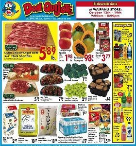 Don Quijote Hawaii Weekly Ad Savings - http://www.weeklycircularad.com/don-quijote-hawaii-weekly-ad-savings/