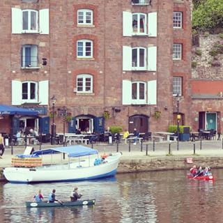 Out on the water #Exeter #Quayside