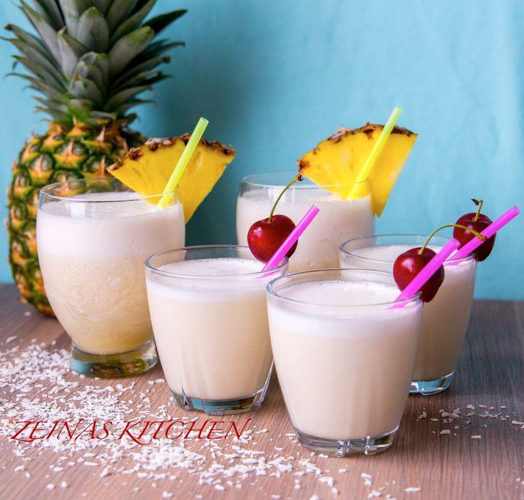 Nu är alla ifamiljen ledigaoch det firar vi med en härlig tropisk sommardrink med smak av ananas och kokos. Det blev snabbt enfavorit hos alla här hemma. Underbar att dricka när det varmt och skönt ute. 1 liter Pina colada 5 dl ananasjuice 400 ml krämig kokosmjölk (läs tips nedan) 2-3 dl is TIPS! Om du bara har vanlig kokosmjölk kan du tillsätta lite grädde i drycken, ca 0,5-1 dl för att få drinken krämig. Gör såhär: Lägg ananasjuice, kokosmjölk och is i en mixer. Mixa några varv och…