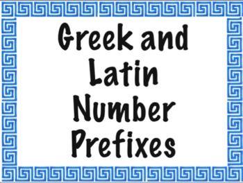Greek Latin Prefix 47
