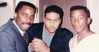 Al B Sure and Tony Thompson