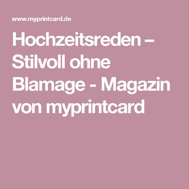 Hochzeitsreden – Stilvoll ohne Blamage - Magazin von myprintcard