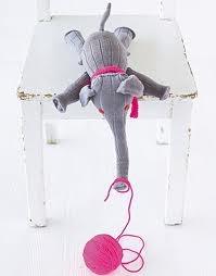 sock elephant - tutorial on brigitte.de