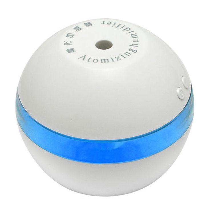 200ML Mini Portable USB Humidifier Diffuser Air Purifier Mist Make for Office Home Car Air Freshener