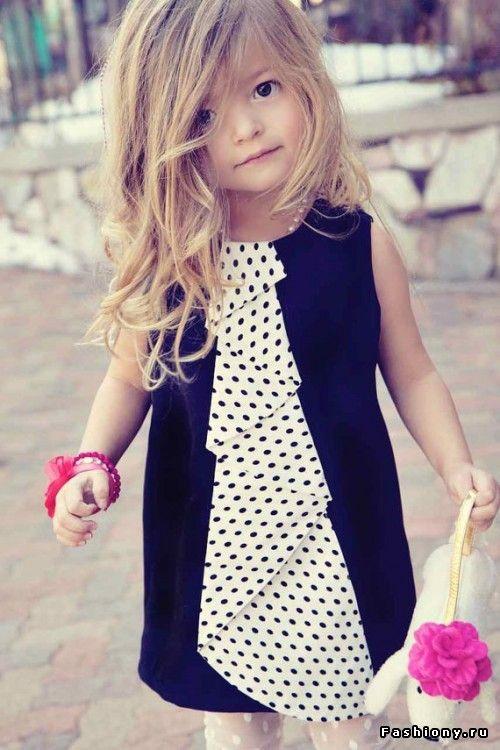 Рисунок в горошек на одежде и аксессуарах (100 фото)! / модные блузки 2014 фото