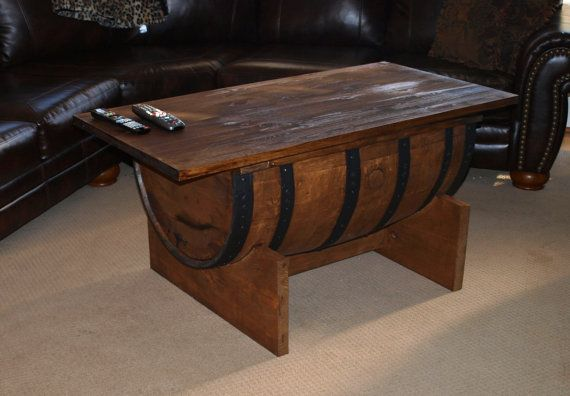 - BOURBON BARREL COFFEE Table Them, All. And By