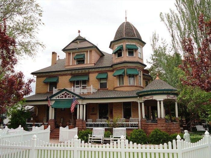 ~ George Carter Whitmore Mansion ~ Nephi, Utah....