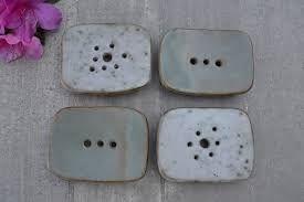 Resultado de imagen para jaboneras de ceramica artesanal