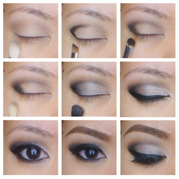 NYE Makeup Using the Smashbox Full Exposure Palette :: Kirei Makeup