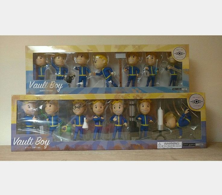 Fallout 3 Vault Boy 101 Bobbleheads lot , Series 1 & 3, RARE, New In Box!
