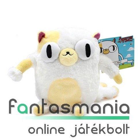Kalandra Fel / Adventure Time - 20cm-es Cake / Cuki a cica plüss figura Kalandra Fel