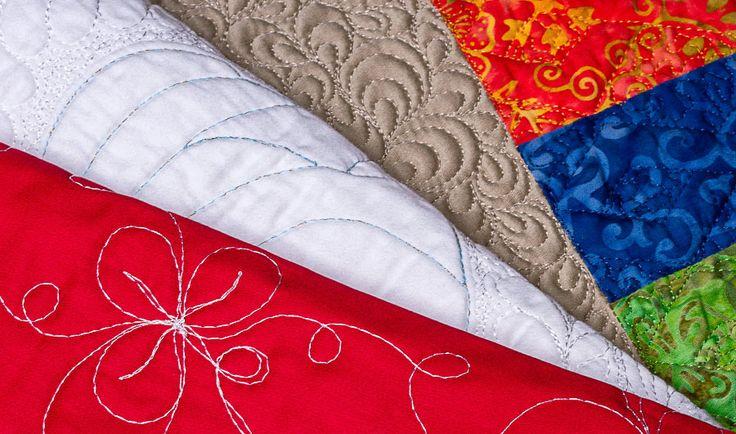 Quilting, do inglês acolchoamento, pode ser traduzido no universo das artes manuais como a escrita da linha sobre tecido ou manta. Muito utilizado como acabamen
