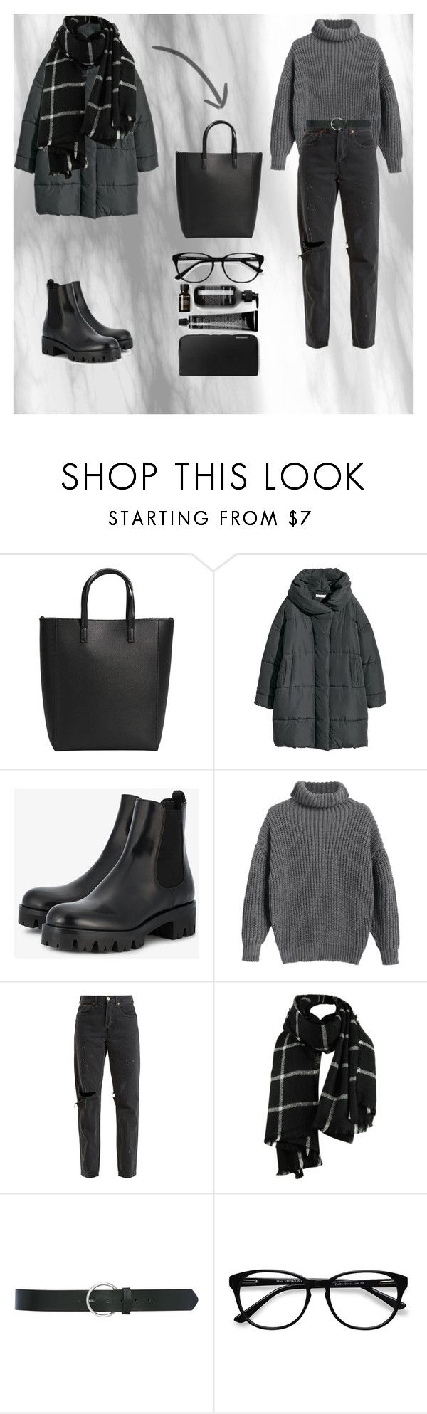 """""""going to cinema"""" by deadbeat-horn on Polyvore featuring MANGO, Prada, RE/DONE, M&Co and EyeBuyDirect.com"""