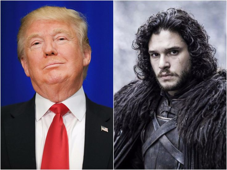 Trevor Noah says Donald Trump is Game of Thrones character Jon Snow and his voters are the Wildlings #trevor #donald #trump #thrones…