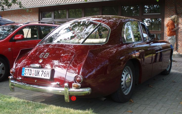 World Otomotif: Bristol 405 Four Door Sedan