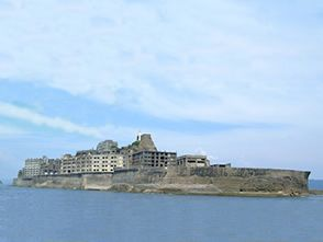 Gunkanjima - заброшенный остров